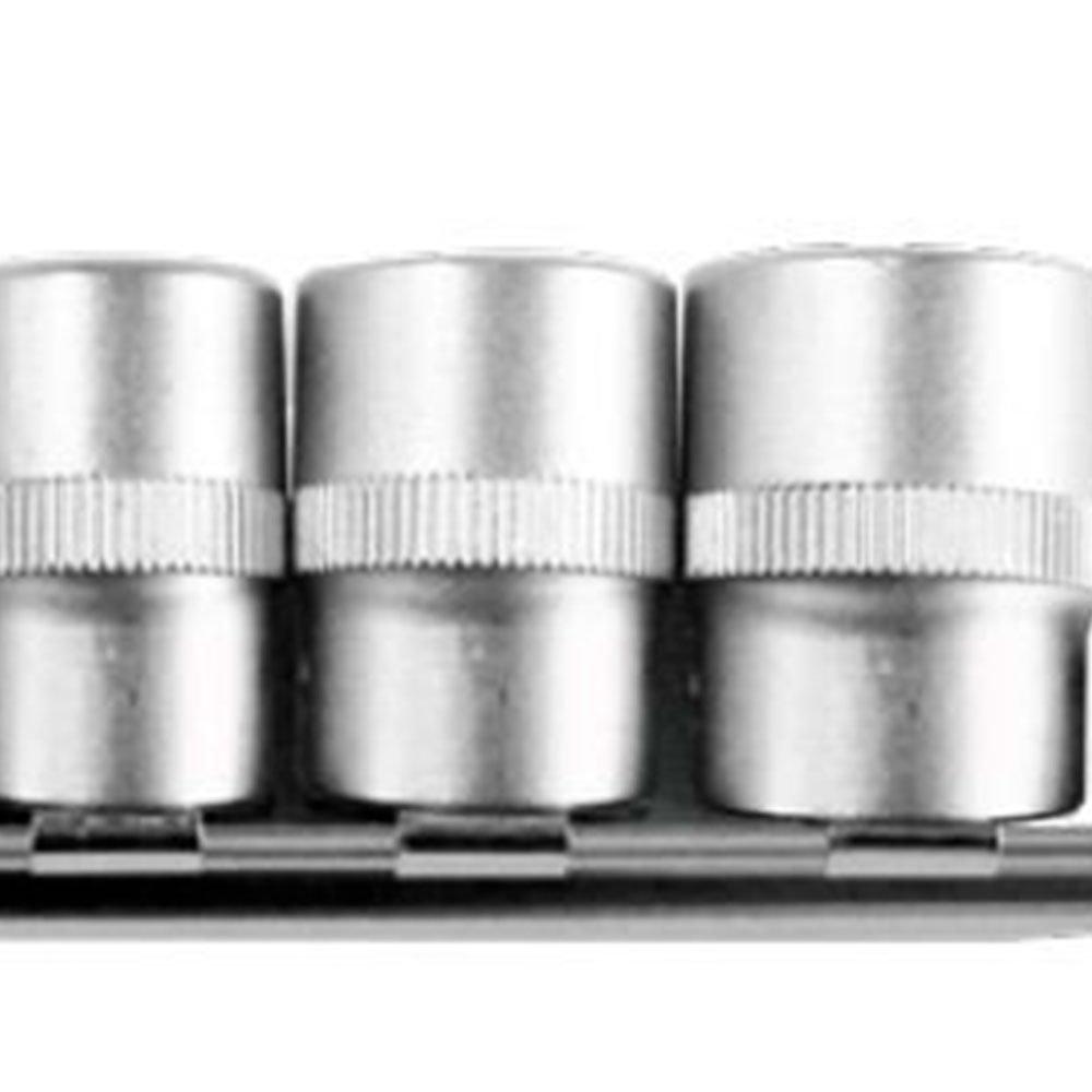 Jogo de Soquetes tipo Tork com Encaixe de 3/8 Pol. 6 Peças - Imagem zoom