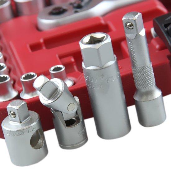 Jogo de soquetes Multi-lock com Encaixe 3/8 Pol. e 25 Peças - Imagem zoom