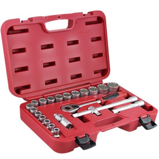 Jogo de Soquetes Multi-Lock 1/2 Pol. com 22 Peças - Imagem zoom