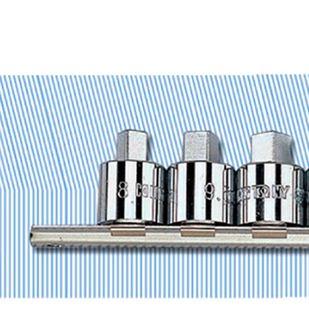 Jogo de Soquete Quadrado com Encaixe de 1/2 Pol. para Bujão de Óleo com 8 Peças - Imagem zoom