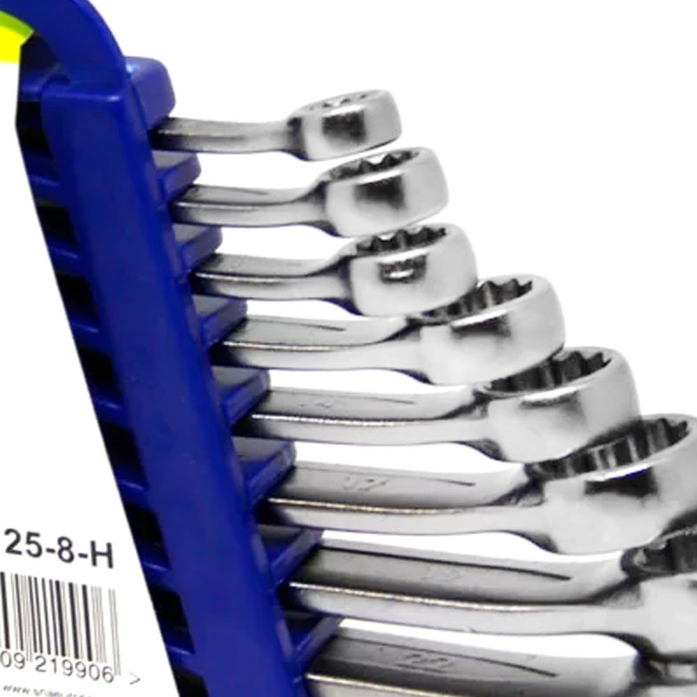 Jogo de Chaves Combinadas 8 a 22mm com 8 Peças - Imagem zoom