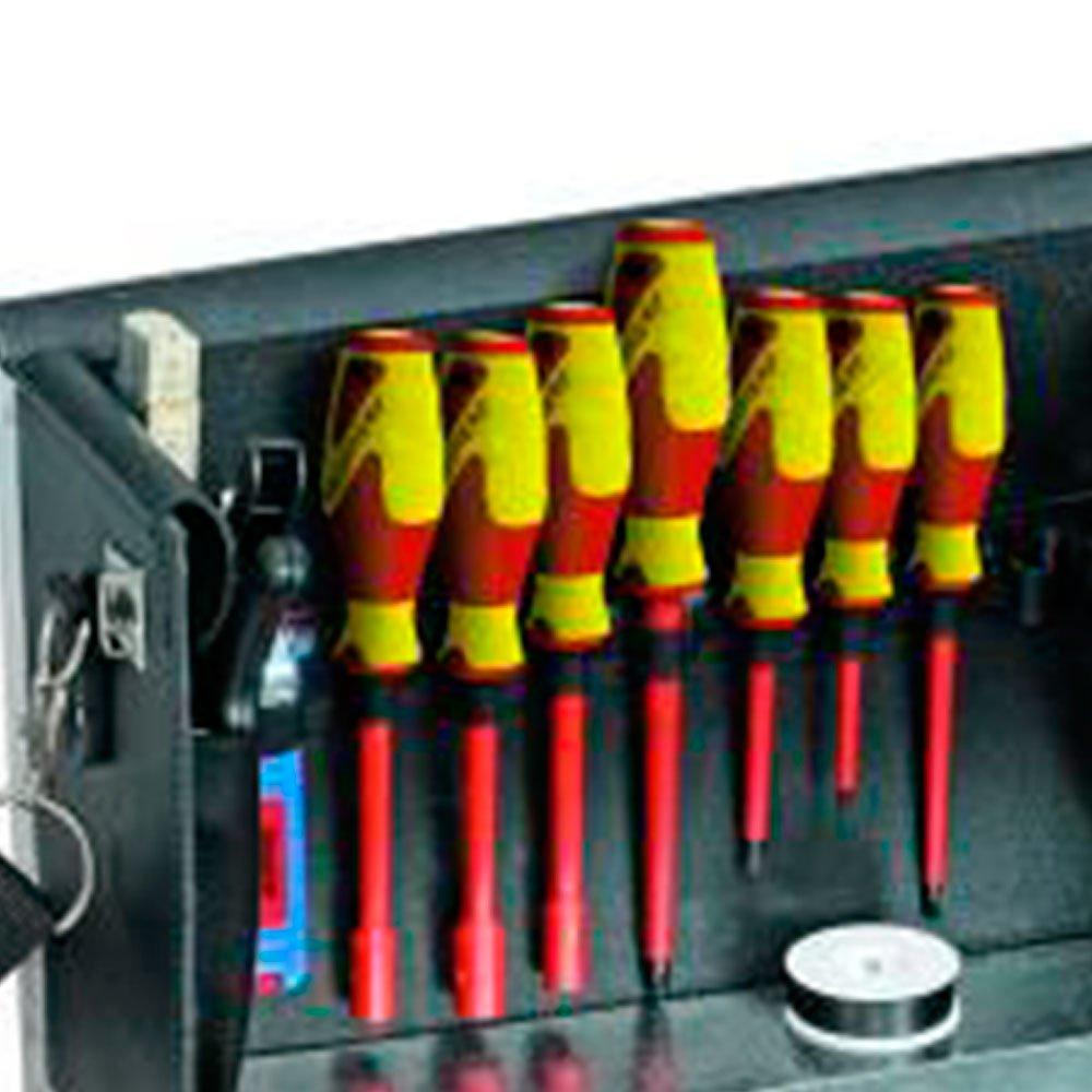 Maleta VDE para Eletricista com 18 Peças - Imagem zoom