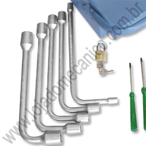 Kit Caixa de Ferramentas Profissionais com 40 Peças (Montada) - Imagem zoom