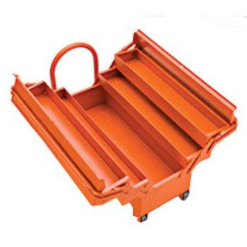 Kit caixa de ferramentas Sanfonada com Rodas e Puxador 35pç - Imagem zoom
