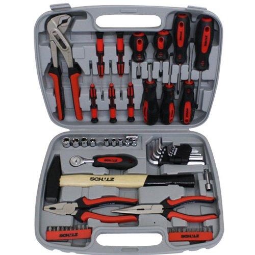 kit de ferramentas manuais com 57 peças