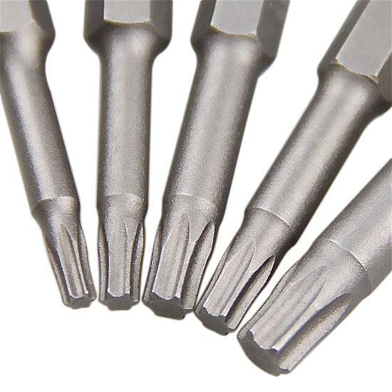 Jogo de Pontas com Perfil Tork para Parafusadeiras com 5 Peças - Imagem zoom