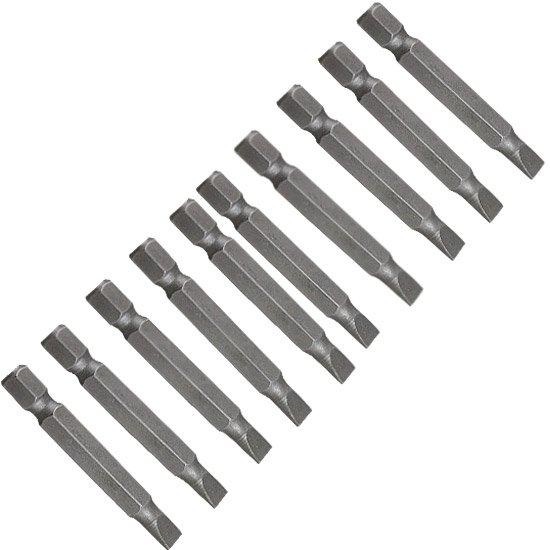 Jogo de Pontas Fenda para Parafusadeira 5 - 50mm 10 Peças - Imagem zoom