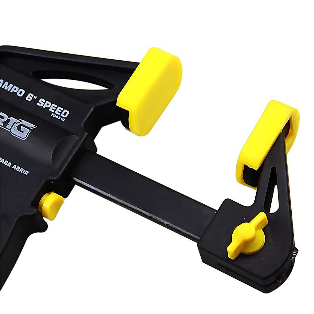 Kit Grampo de Aperto Rápido 6 Pol FortG Pro FG8310 + Grampo de Aperto Rápido 24 Pol FG8320 - Imagem zoom