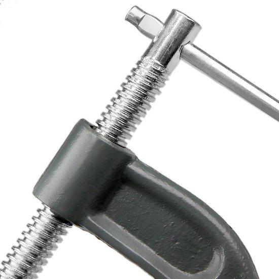 Grampo de Fixação Nodular Tipo C 6 Pol. - Imagem zoom