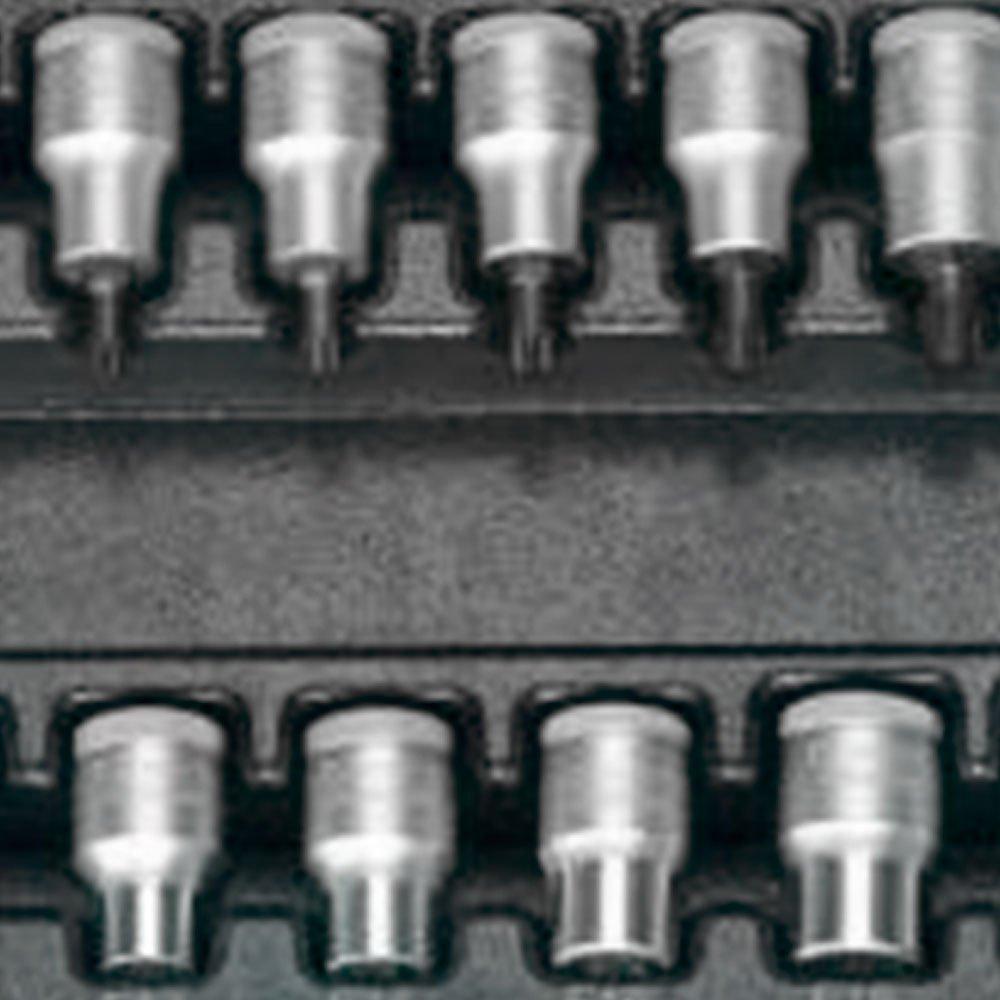 Jogo de Chaves Soquetes GTX com Encaixe de 1/2 Pol. com 17 Peças - Imagem zoom