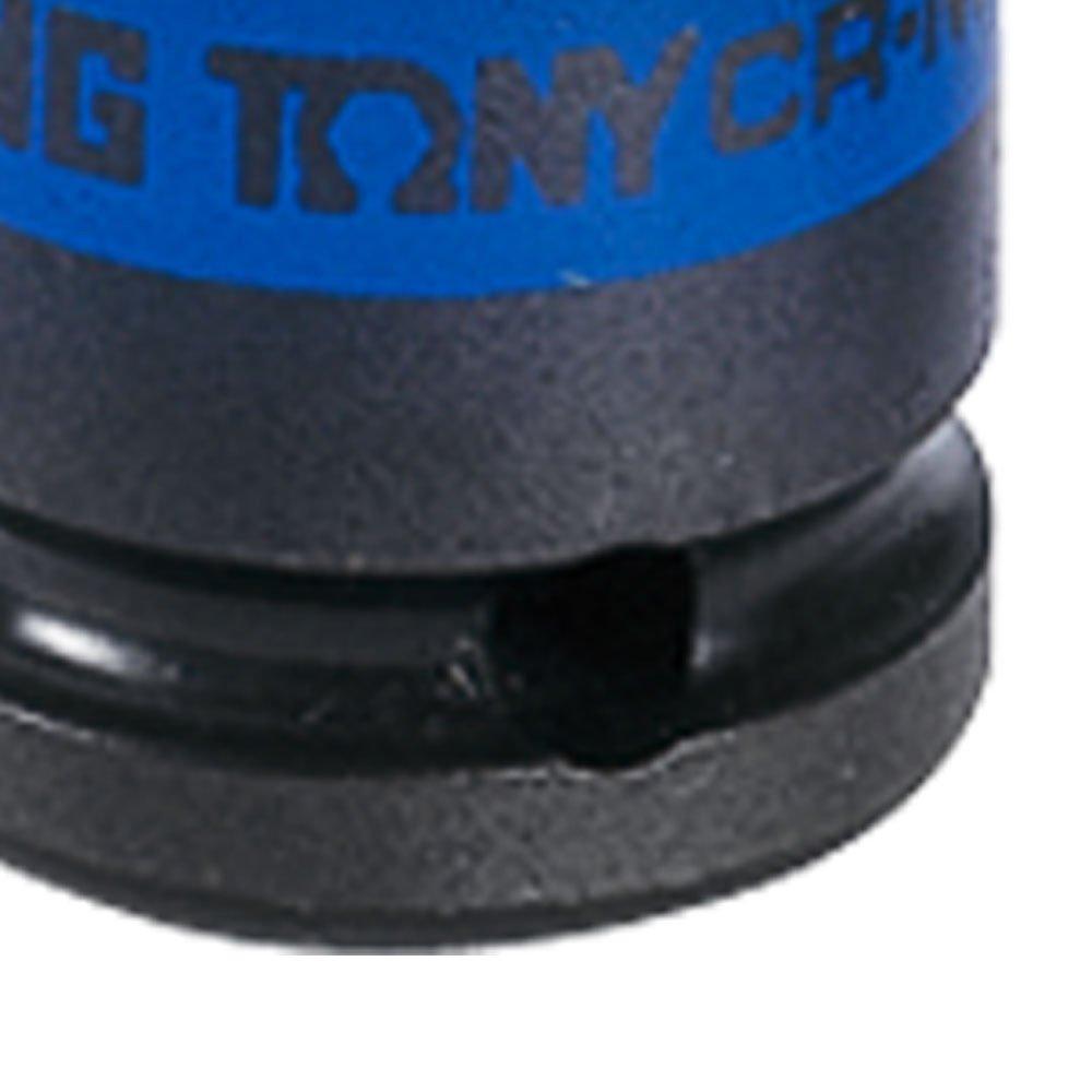 Soquete de Impacto Estriado Extra Longo de 17mm com Encaixe de 1/2 Pol.  - Imagem zoom