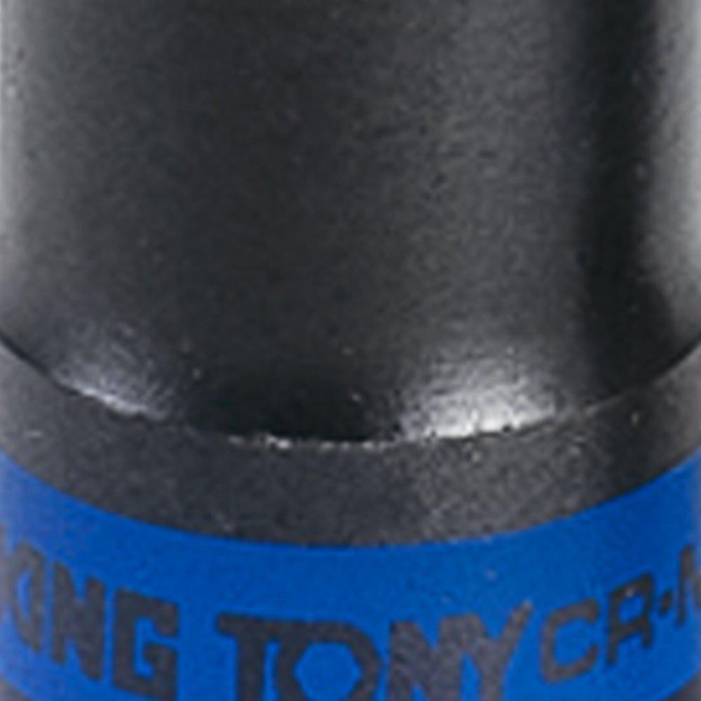 Soquete de Impacto Estriado Extra Longo de 19mm com Encaixe de 1/2 Pol.  - Imagem zoom
