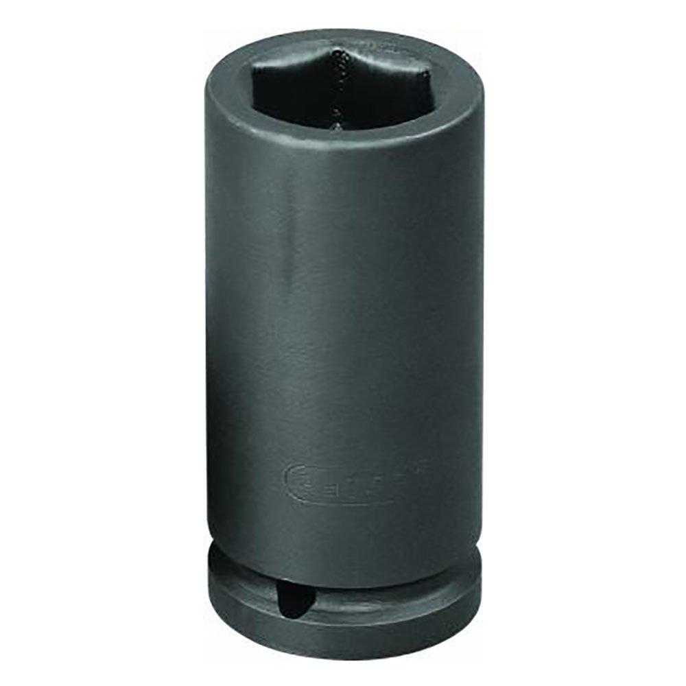 Soquete de Impacto Sextavado Longo de 30mm com Encaixe de 12 Pol