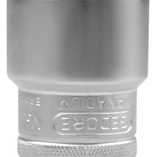 Soquete Sextavado de 25 mm e com Encaixe de 1/2 Pol. - Imagem zoom