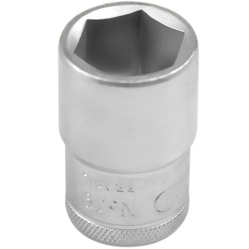 soquete sextavado de 18 mm com encaixe de 1/2 pol.
