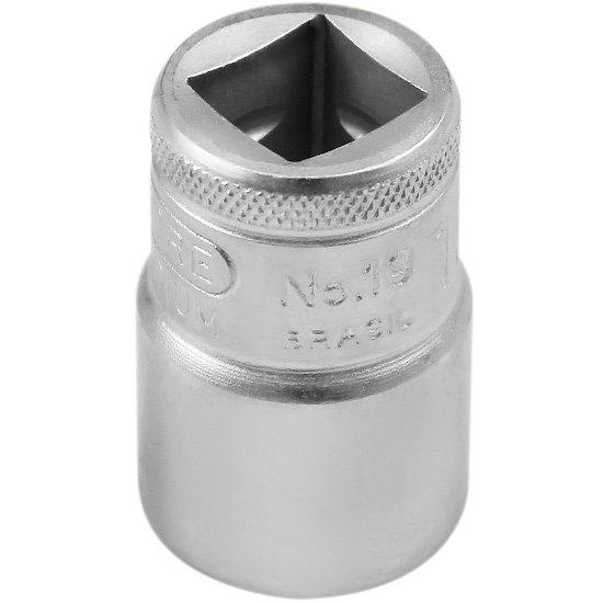 Soquete Sextavado de 18 mm com Encaixe de 1/2 Pol. - Imagem zoom