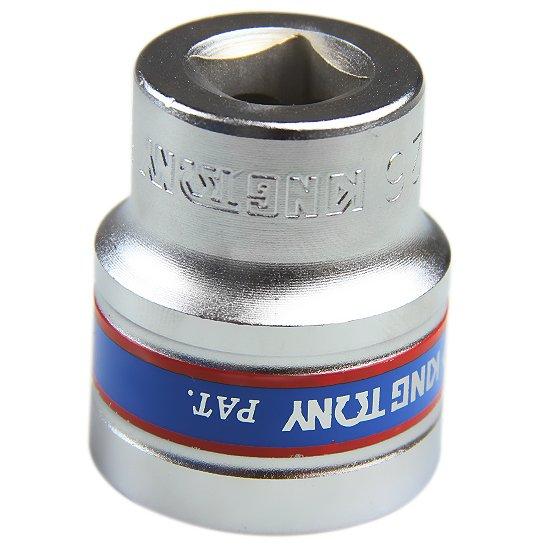 Soquete Estriado de 26 mm com Encaixe de 1/2 Pol. - Imagem zoom