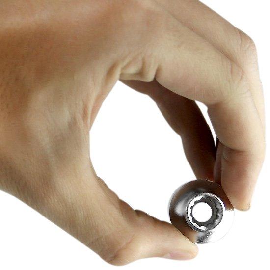 Soquete Estriado 9 mm com Encaixe 1/2 Pol. - Imagem zoom