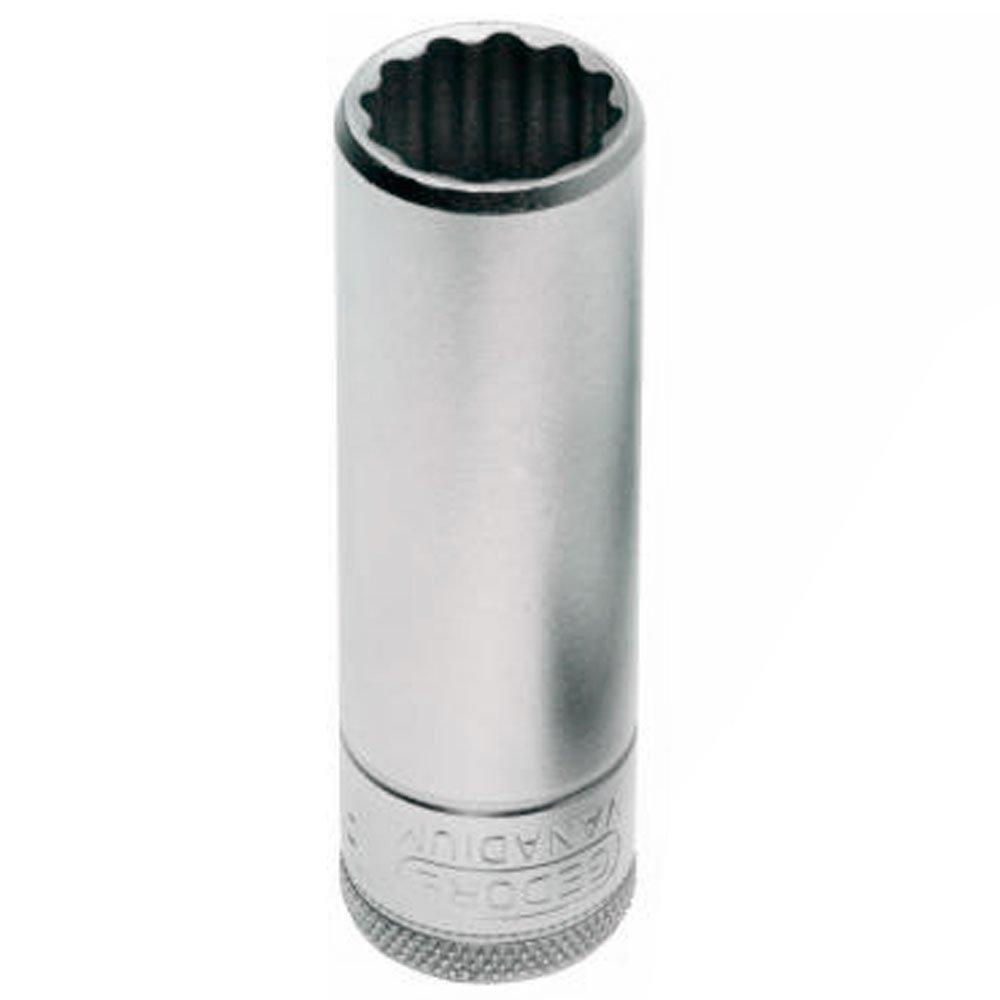 Soquete Estriado Longo de 24mm com Encaixe de 1/2 Pol. - Imagem zoom