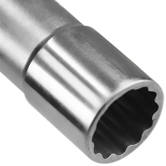 Soquete Estriado Longo com Encaixe de 1/2 Pol. - 13/16 Pol. - Imagem zoom