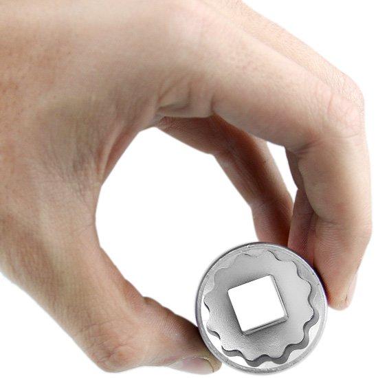 Soquete Estriado de 1 Pol. com Encaixe de 1/2 Pol. - Imagem zoom