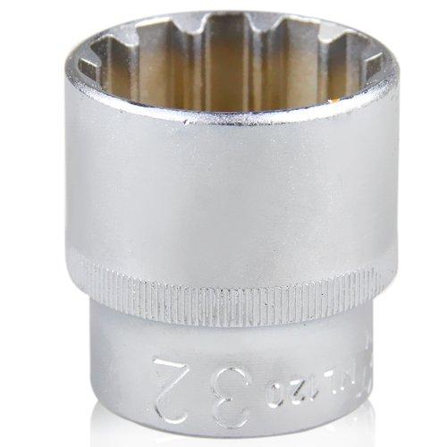 soquete multi-lock de 32 mm com encaixe de 1/2 pol