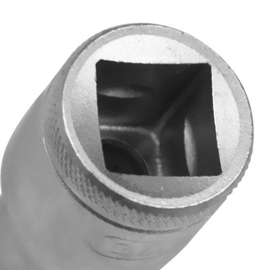 Soquete Estriado Curto com Encaixe de 11mm de 1/2 Pol. - Imagem zoom