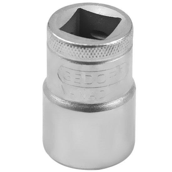 Soquete Estriado Curto com Encaixe de 1/2 Pol. 18 mm  - Imagem zoom