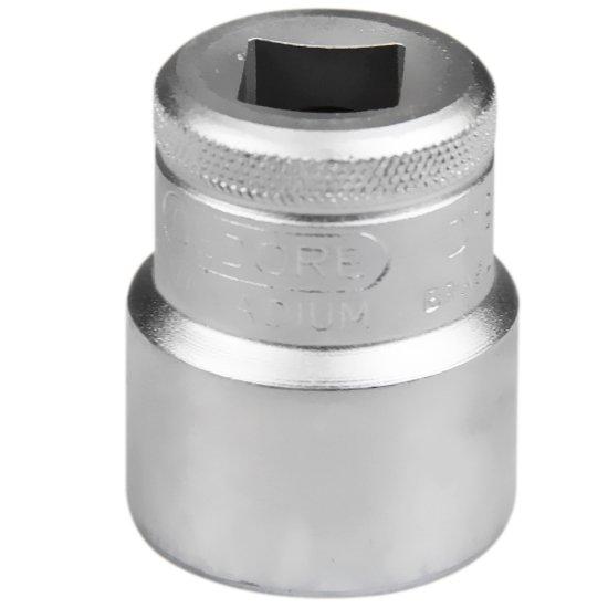 Soquete Estriado Curto com Encaixe de 1/2 Pol. - 24 mm - Imagem zoom