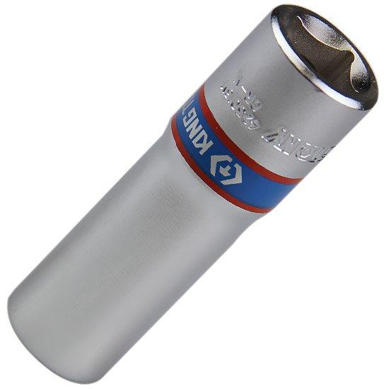 Soquete Estriado Longo de 16 mm com Encaixe de 1/2 Pol. - Imagem zoom
