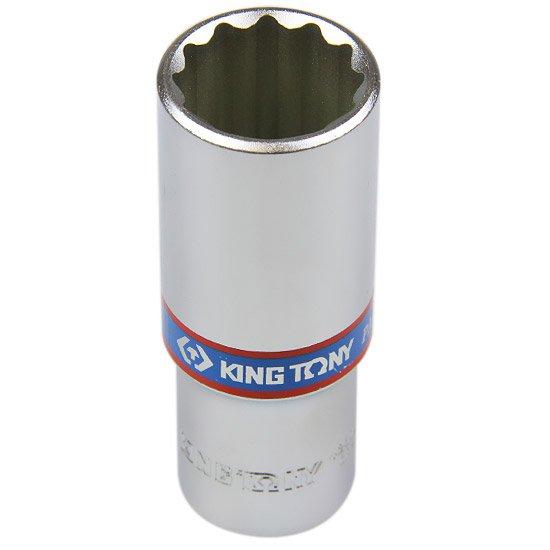 Soquete Estriado Longo 22 mm com Encaixe de 1/2 Pol. - Imagem zoom
