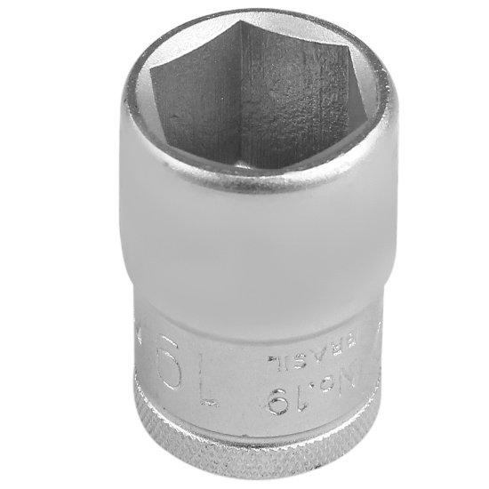 Soquete Sextavado 19 mm e Encaixe de 1/2 Pol.  - Imagem zoom