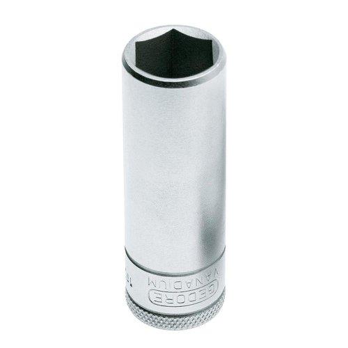 soquete sextavado longo 17mm de 1/2 gedore