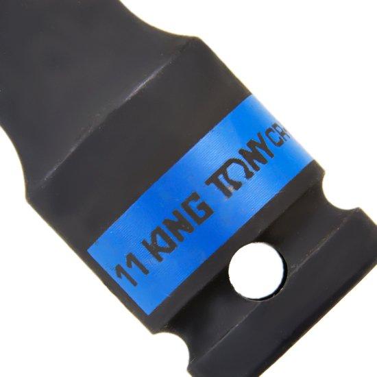 Soquete de Impacto Sextavado Longo com Encaixe de 1/2 Pol. - 11 mm - Imagem zoom