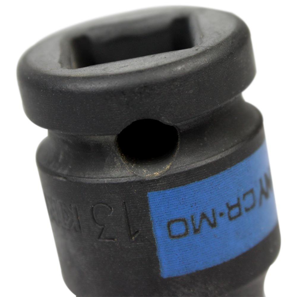 Soquete de Sextavado Impacto Longo de 13mm com Encaixe de 1/2 Pol. - Imagem zoom