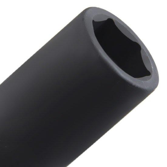 Soquete de Impacto Extra Longo 17 mm e Encaixe de 1/2 Pol.  - Imagem zoom