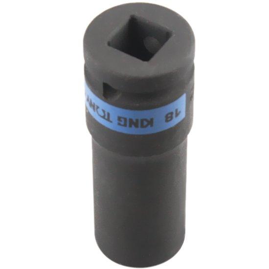 Soquete de Impacto Extra Longo 18 mm com Encaixe 1/2 Pol.  - Imagem zoom
