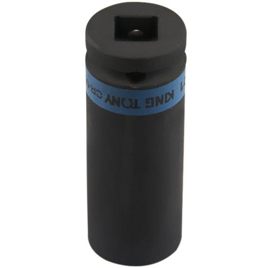 Soquete de Impacto Extra Longo 21 mm e Encaixe de 1/2 Pol.  - Imagem zoom