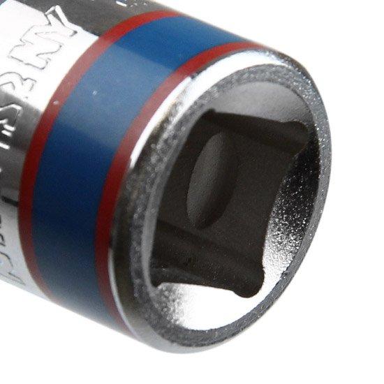 Soquete Sextavado Curto 11 mm e Encaixe de 1/2 Pol.  - Imagem zoom