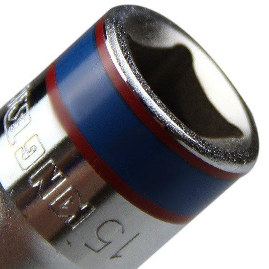 Soquete Sextavado Curto de 1/2 Pol. 15 mm  - Imagem zoom