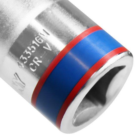 Soquete Sextavado curto de16 mm com Encaixe de 1/2 Pol. - Imagem zoom