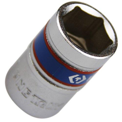 soquete sextavado curto de 17 mm com encaixe de 1/2 pol.