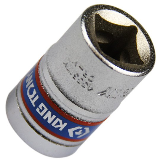 Soquete Sextavado Curto de 17 mm com Encaixe de 1/2 Pol. - Imagem zoom