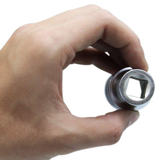 Soquete Sextavado Curto 23 mm com Encaixe de 1/2 Pol.  - Imagem zoom