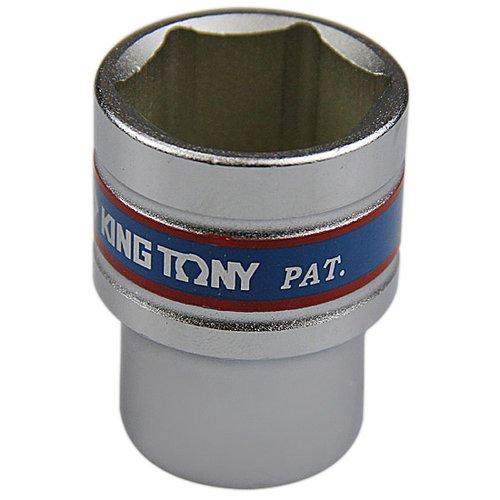 soquete sextavado curto 24 mm com encaixe de 1/2 pol.