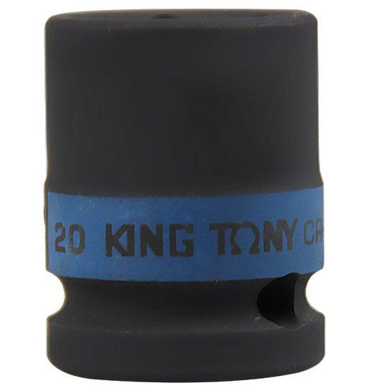 Soquete de Impacto Sextavado Curto 20 mm Encaixe de 1/2 Pol.  - Imagem zoom