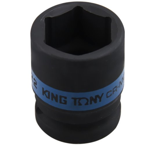 soquete de impacto sextavado curto com encaixe de 1/2 pol. de 22 mm