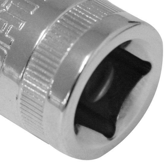 Soquete Estriado Cromado de 1/2 Pol.17mm - Imagem zoom