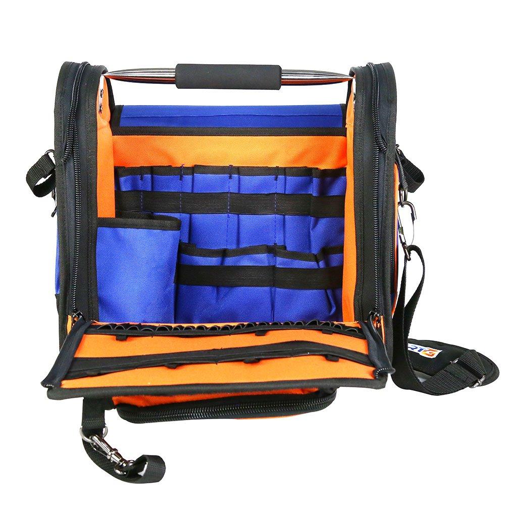 Bolsa Grande Rígida de Ferramentas 37cm com Alça Tubular - Imagem zoom