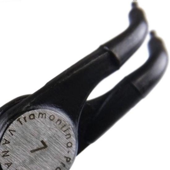 Alicate para Anéis 7 Pol. Interno Curvo - Imagem zoom
